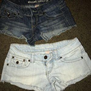 super short jean short PAIR(2)